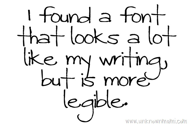 So are you font lover or do you just stick to the basics