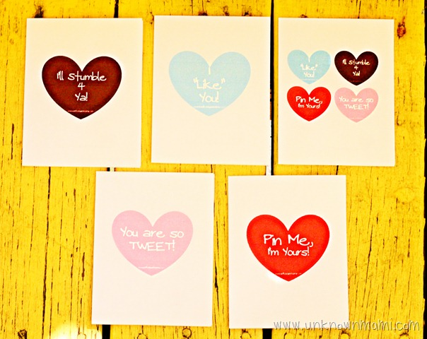 Free Valentine's Day Cards (Printable)