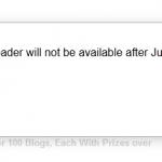 Google Reader Discontinued