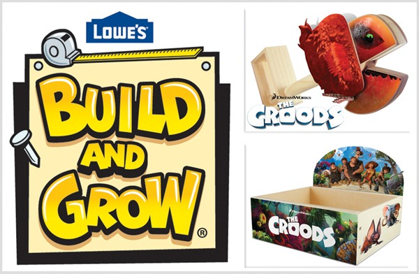 Lowe's Build and Grow for The Croods