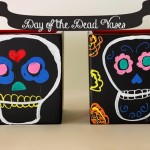 Vases for Day of the Dead