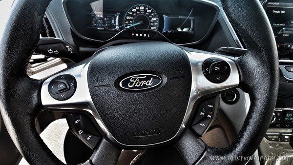Ford steering wheel in C-Max