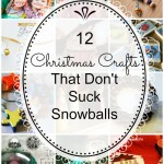 Christmas crafts that don't suck