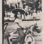 Little girl with a sombrero