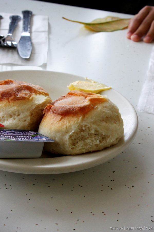 Biscuits at Eddie's Cafe