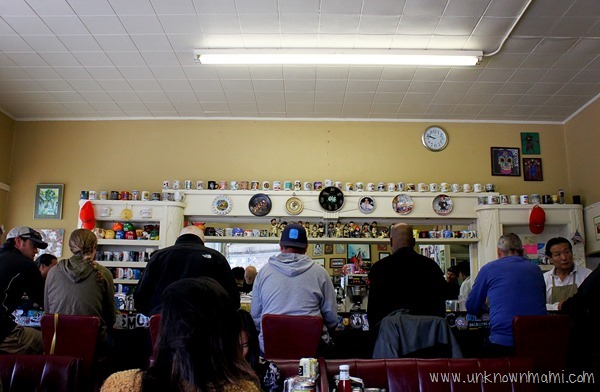 Inside Eddie's Cafe