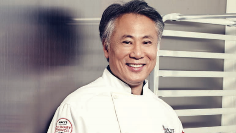 Chef Takashi Yagihashi at Macy's Union Square in San Francisco on May 21