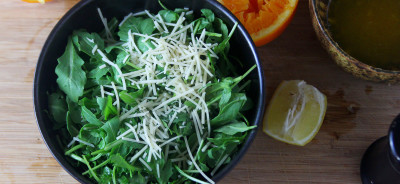 Baby Arugula Salad and Dressing Recipe