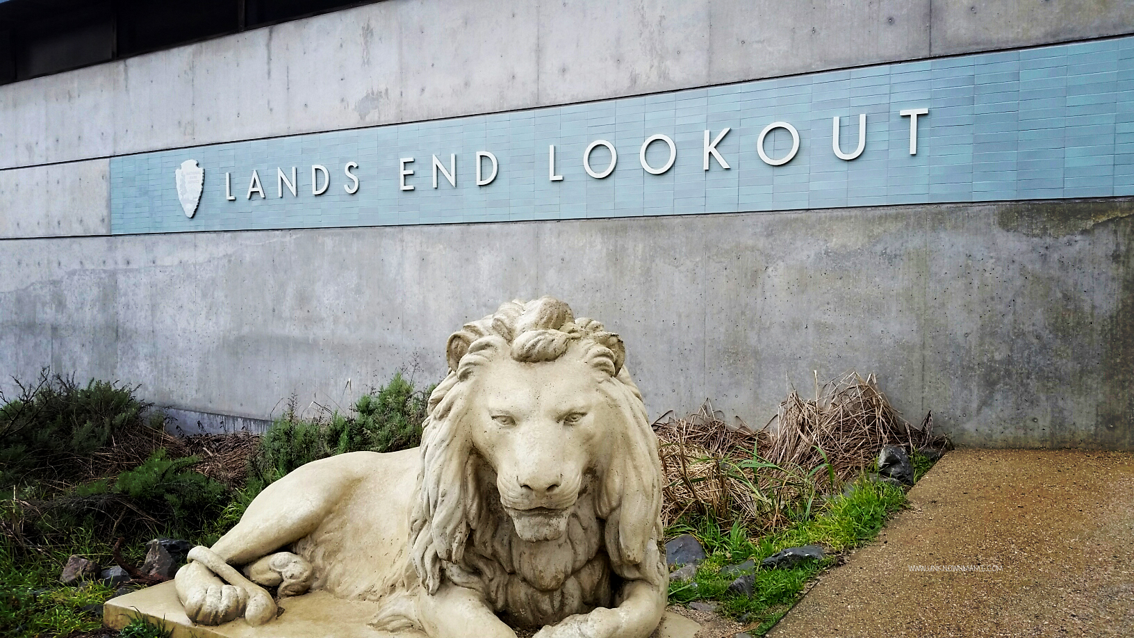 Lands End Lookout Sign