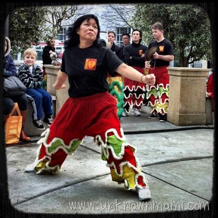 Female Martial Arts Dancer