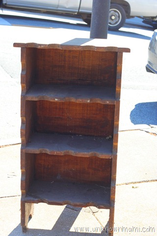 Beautifying a Discarded Piece of Furniture with Wood Stain