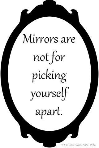 Looking in the Mirror (Printable)