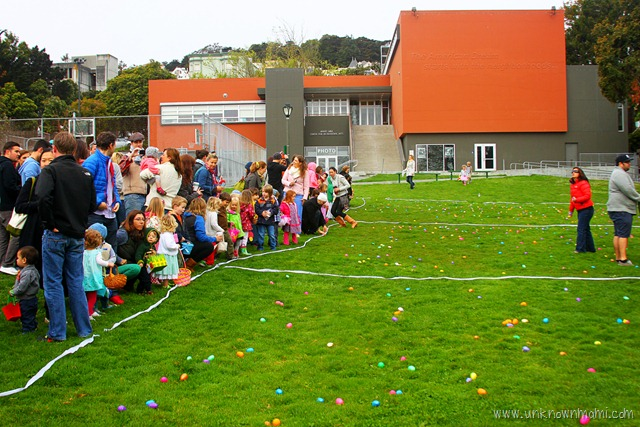 On the Easter Egg Hunt (Sundays In My City)