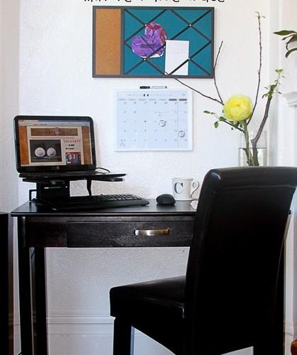 DIY Home Office: No Space, No Problem