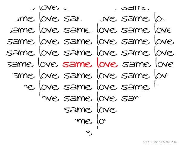 Same Love: No Freedom Till We're Equal