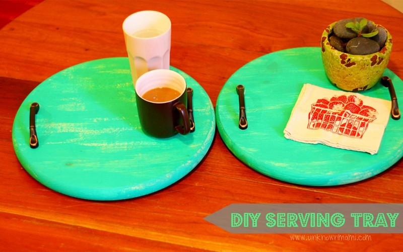 You've Been Served: DIY Serving Tray