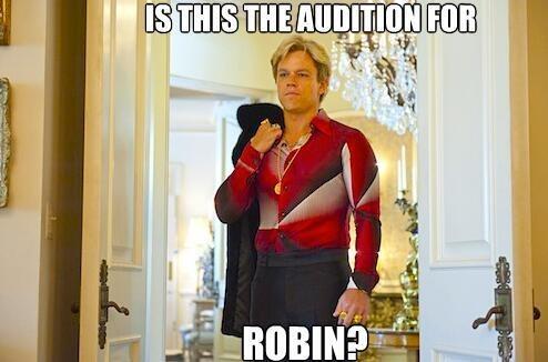 Tweets, Batfleck, and Matt Damon as Robin (Fragmented Fridays)