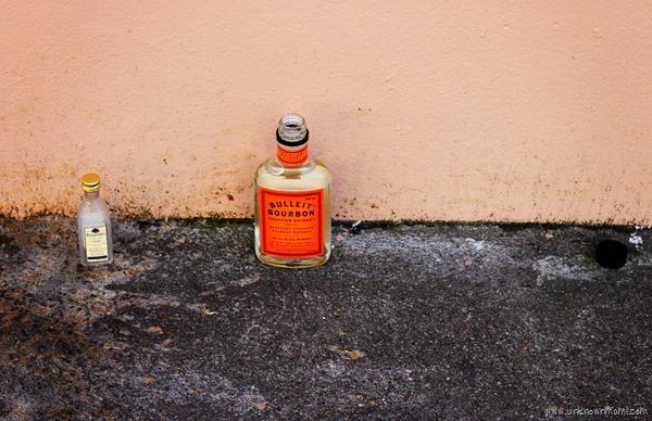 Booze on the street