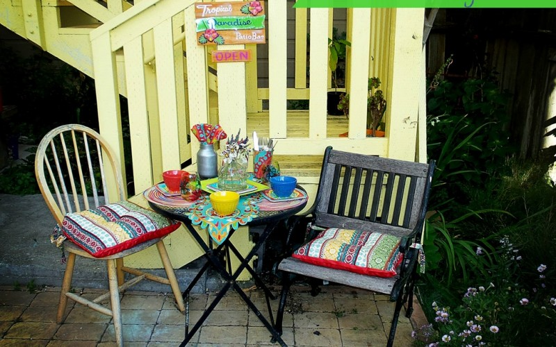 DIY Outdoor Date Night Oasis