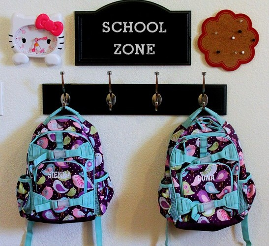 DIY: Easy Back-to-School Command Center