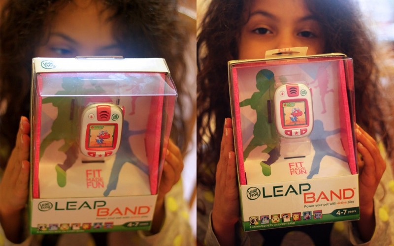 LeapFrog LeapBand Review + Giveaway