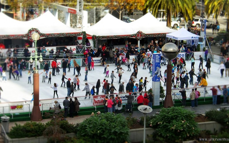 Union Square Ice Rink (Sundays In My City)