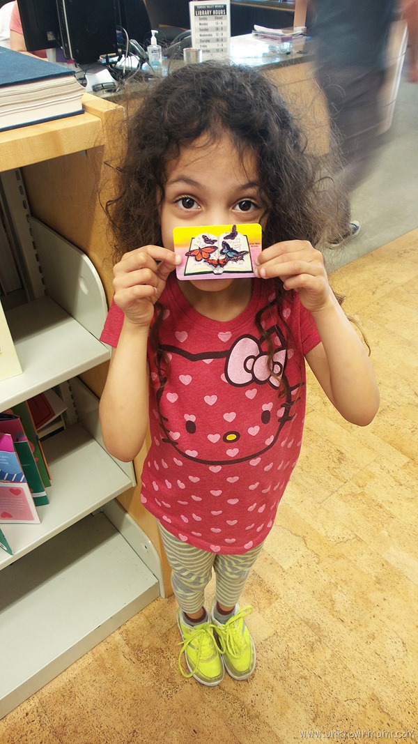 First library card