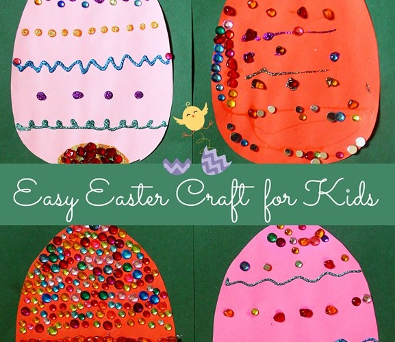 DIY: Easy Easter Craft for Kids