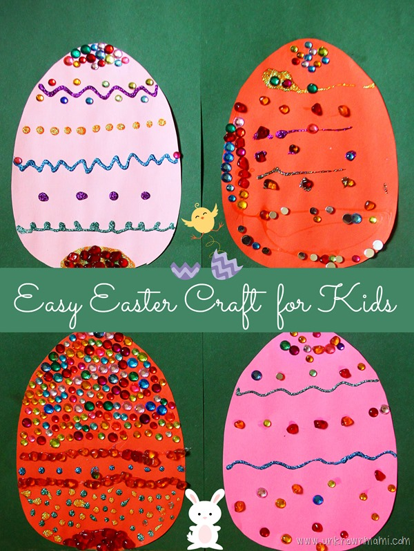 DIY Easy Easter Craft For Kids Unknown Mami By Claudya Martinez