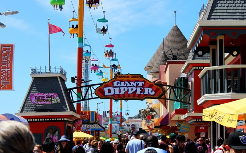 Santa Cruz Beach Boardwalk (Sundays In My City)