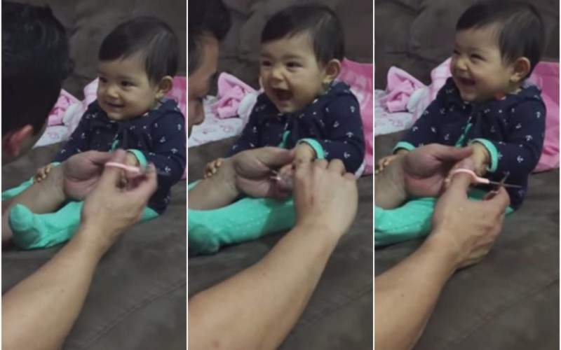 Prankster Baby Proves That Some People Are Just Born Funny