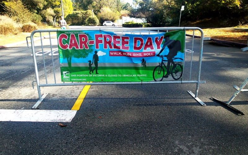 Car-Free Day in Golden Gate Park (Sunday In My City)