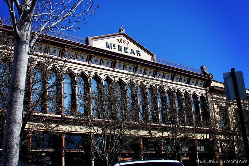 McNear building in Petaluma