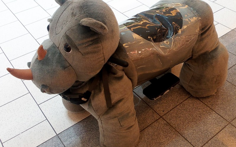 Fuzzy Rides Tanforan Mall (Sundays In My City)