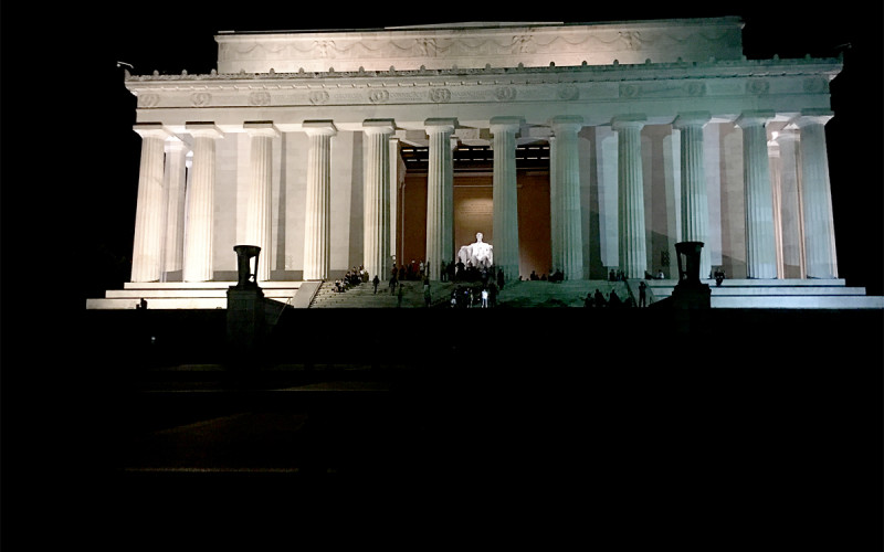 Washington, D.C. at Night (Sundays In My City)