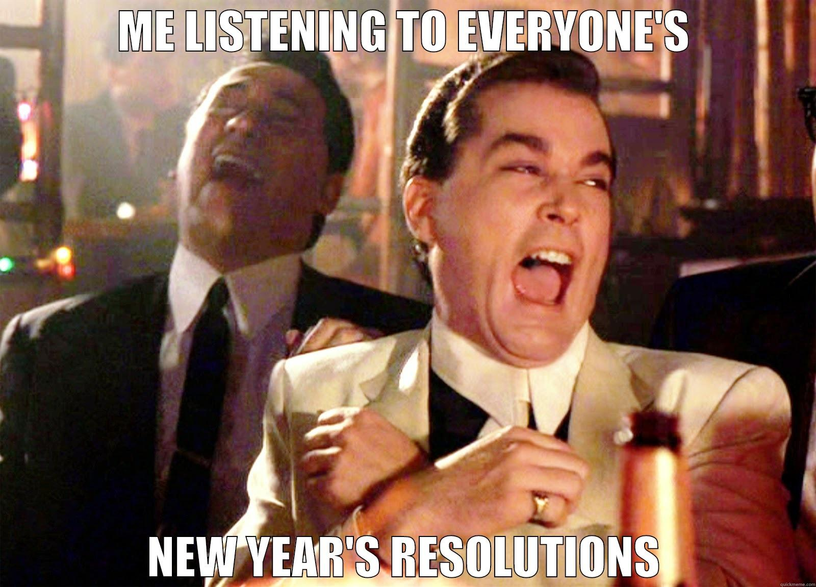 Laughing New Year's Resolution Meme