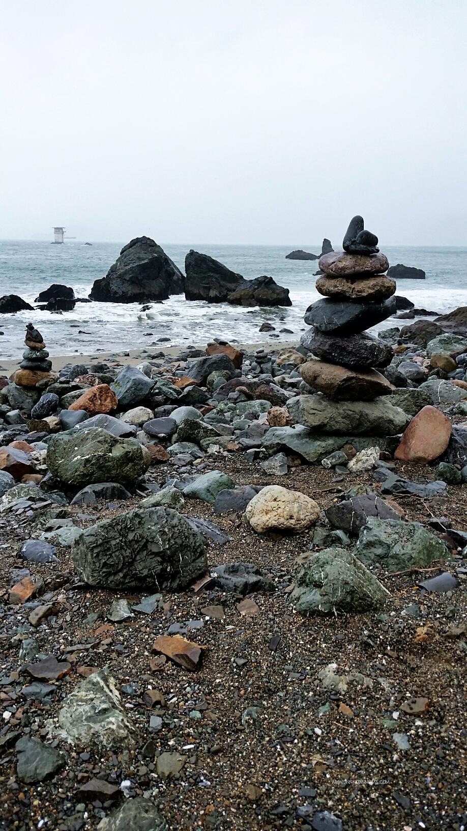 Stacked Rocks at Lands End