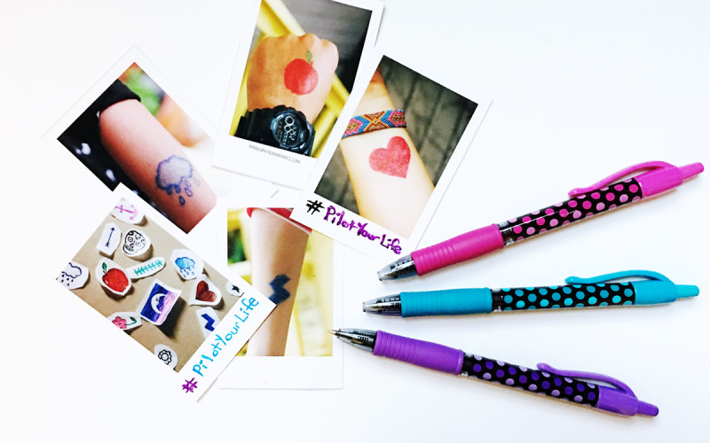 DIY: Temporary Gel Pen Tattoos