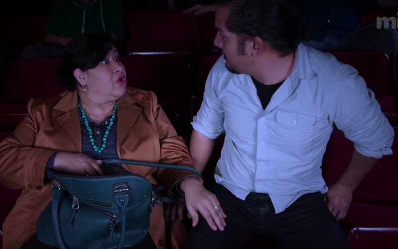 Mexican Moms Love Sneaking Snacks Into the Movies  (The Flying Chancla Report)