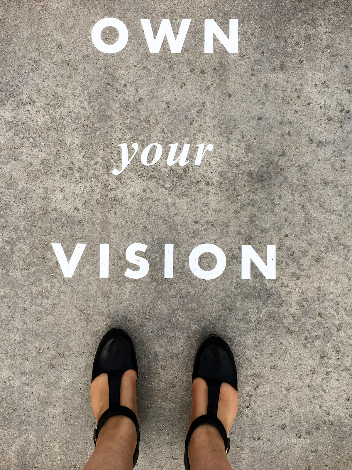 Own Your Vision #WAG